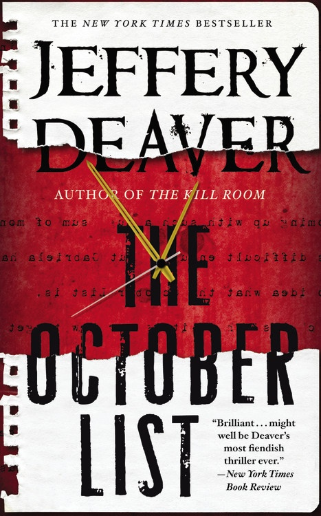 The October list paperback