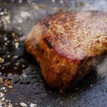 pan-seared beef tenderloin